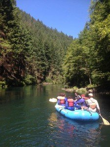 Umpqua River Whitewater Rafting Trip - Cascade Crest Transitions